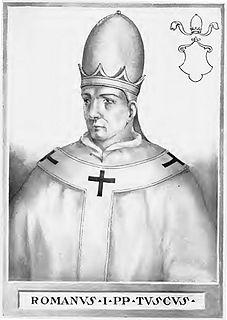 Pope Romanus pope