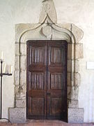 Porte du XV e siecle, provenant d'Aixe sur Vienne, The Cloisters, New-York.JPG