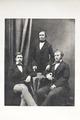 Porträtt. Walther och Hans von Hallwyl samt informatorn Kirchner - Hallwylska museet - 87329.tif