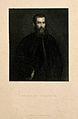 Portrait of Andreas Vesalius (1514 - 1564), Flemish anatomist Wellcome V0006036.jpg