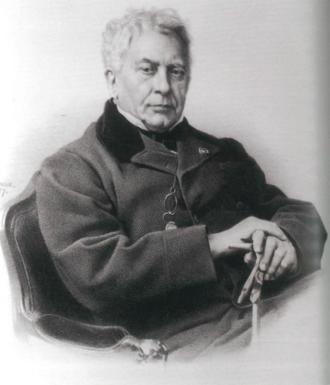 Jean-Victor Schnetz - Portrait of Schnetz in 1867 by Jean-Baptiste-Adolphe Lafosse
