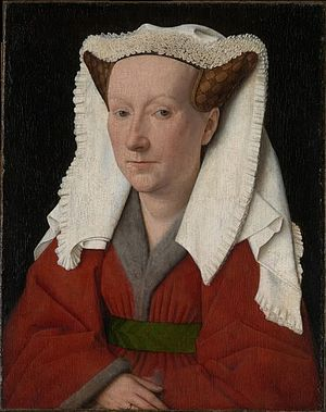 Jan van Eyck - Portrait of Margaret van Eyck, Groeningemuseum, Bruges, 1439