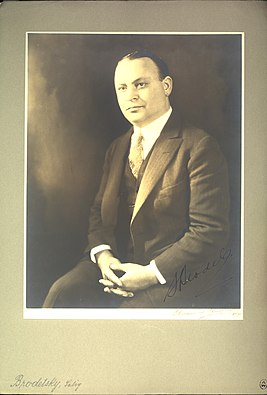 Portrait of Selig Brodetsky (1888-1954), Mathematician (2551561542).jpg