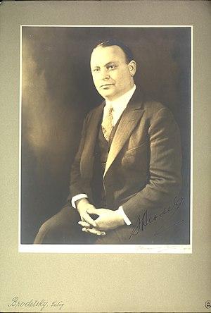 Selig Brodetsky - Image: Portrait of Selig Brodetsky (1888 1954), Mathematician (2551561542)