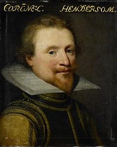 Portret van Sir Robert Henderson of Tunnegask (?- 1622) Rijksmuseum SK-A-558