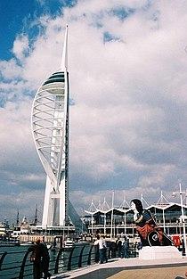 Portsmouth, Spinnaker Tower - geograph.org.uk - 499108.jpg