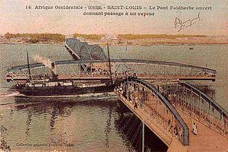 Faidherbe Bridge - The old Faidherbe Bridge
