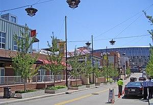 English: Power & Light District, Kansas City, ...