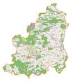 Powiat lubiński location map.png