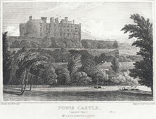 Powis Castle, Montgomeryshire. General View