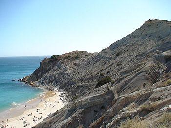 Praia de Burgau, The Algarve, Portugal