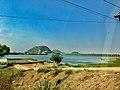Prakasam Barrage from Amaravathi Karakatta.jpg