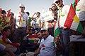 Pre-referendum, pro-Kurdistan, pro-independence rally in Erbil, Kurdistan Region of Iraq 20.jpg