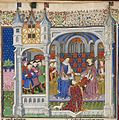 Presentation scene - British Library Royal MS 15 E vi f2v (detail).jpg
