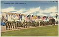 Presenting colors, Camp Claiborne, La. (8185173676).jpg