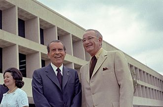 Indian termination policy - Presidents Lyndon B. Johnson and Richard Nixon favored self-determination instead of termination.