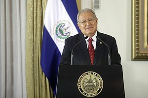 Salvador Sánchez Cerén - The president, 7 February 2017