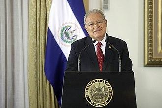 Salvador Sánchez Cerén - The president, 7 February 2017