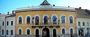 Cluj-Napoca City Hall - The old city hall, at 1 Unirii Square (1843-46)
