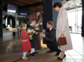 Prince Harry and Ms. Markle visit Titanic Belfast (40973170961).png