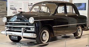 Prince Sedan   1954 Prince Sedan AISH 2 (Crown Prince Akihitou0027s Vehicle)