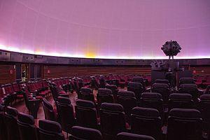 Professor Aristóteles Orsini Planetarium - Inside the planetarium