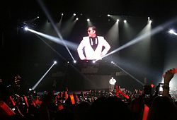 Psy does Gangnam Style at KIIS FM Jingle Ball 2012.jpg