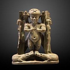 Ptah-Patèque tenant des couteaux-E 11202