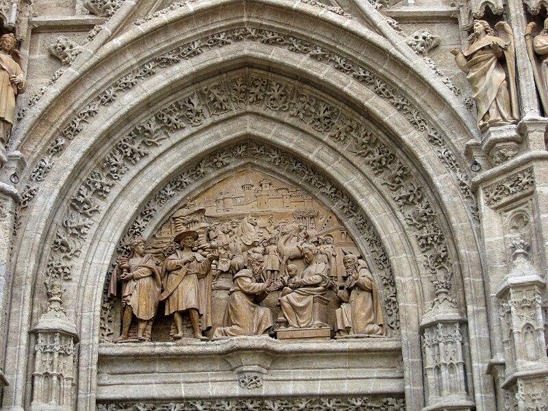 Archivo:Puerta de palos de la Catedral de Sevilla2.jpg