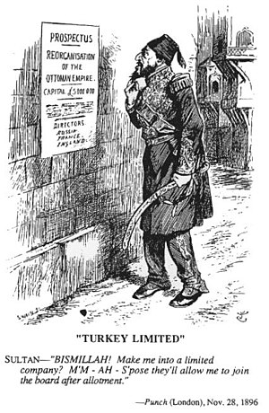 Atatürk's Reforms - Image: Punch magazine Turkey Ltd 1896
