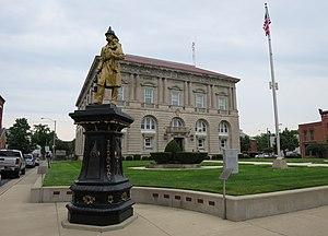 Putnam County, Ohio - Image: Putnam County Courthouse panoramio (1)