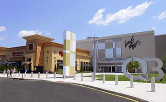 Clarksville, Mercer County, New Jersey - Quaker Bridge Mall in Clarksville.