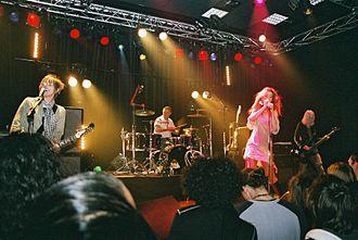 Queenadreena - Queenadreena performing in Hérouville-Saint-Clair, France, 2006
