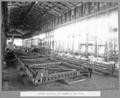 Queensland State Archives 3673 Rocklea workshops shop assembly of 102 ft truss Brisbane 14 June 1936.png