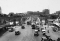 Queensland State Archives 59 Victoria Bridge Brisbane looking north October 1930.png