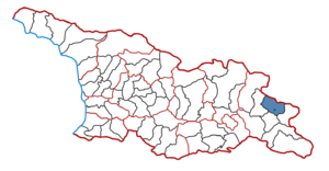Qvareli Municipality - Kvareli District