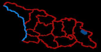 Qvareli Municipality - Kvareli District