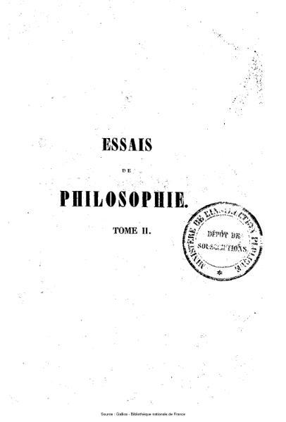 File:Rémusat - Essais de philosophie, tome 2.djvu