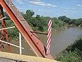 Río Salado y el puente en Suncho Corral hacia el Sur.JPG