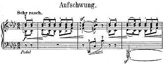 Fantasiestücke, Op. 12 - Image: R. Schumann, Fantasiestücke, Op. 12, Nr. 2 Incipit