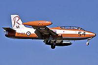 RAAF Commonwealth CA-30 (MB-326H) landing at RAAF Air Base Edinburgh.jpg