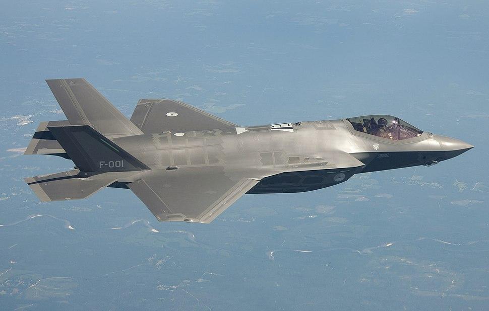RNLAF F-35 F-001 01
