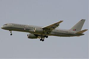No. 40 Squadron RNZAF - Image: RNZAF Boeing 757 Kv W