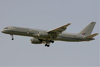 No. 40 Squadron RNZAF - Boeing 757 of the RNZAF in 2009.