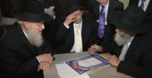 Rabbi Dovid Grossman at a Student's Wedding.png