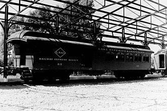 "Lake Superior and Ishpeming Railroad - Image: Railway Express Agency ""J.H.Kline"" (5963544115)"