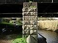 Railway bridge support, Newton Abbot - geograph.org.uk - 1184750.jpg
