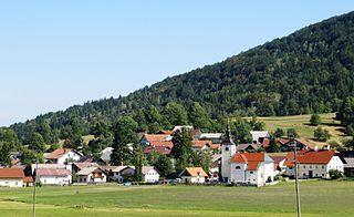 Rakitna, Brezovica Place in Inner Carniola, Slovenia