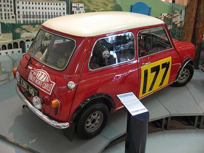 File:Rally mini at the British motoring heritage museum gaydon (9).jpg