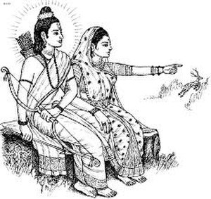 Ramlila - Ramlila revolves around the epic of Rama and Sita.